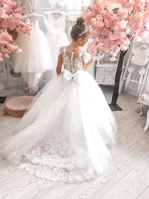 Euna Communion Dress - Princess Collection