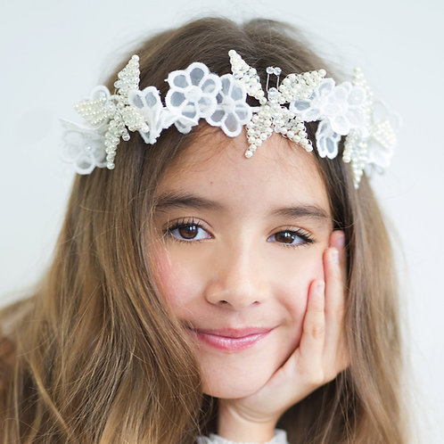 Butterfly Kiss Hair Garland (Pink) - Sienna Likes to Party