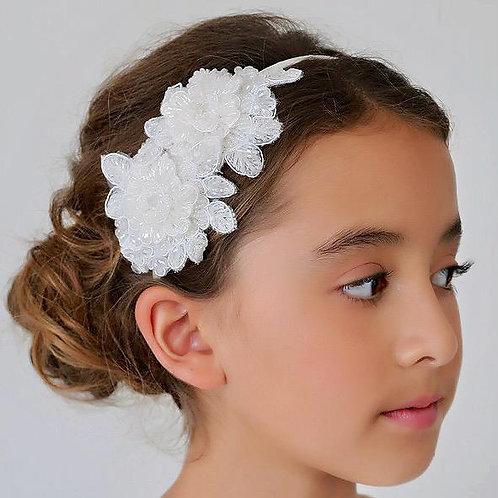 The Miss Sofia Flower Designer Girls Headband - Sienna Likes to Party