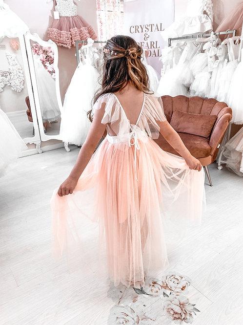 Clementine Dress (Blush) - Boho Collection