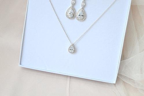 Eternity Bridal Necklace