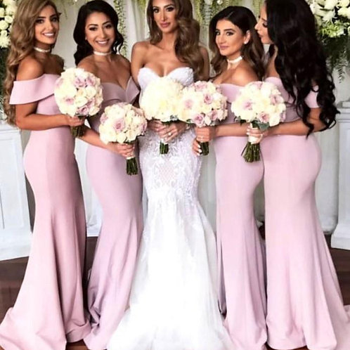 Bridesmaid Dress - Mauve
