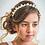 Thumbnail: The Clara Ivory Designer Headband - Sienna Likes to Party