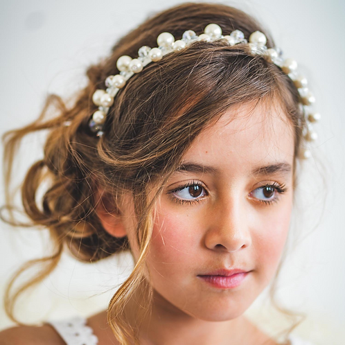 The Clara Ivory Designer Headband - Sienna Likes to Party