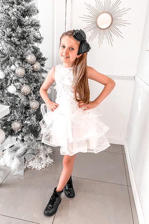 Lace White Party Dress