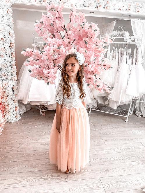 Luna Dress (Blush) - Boho Collection
