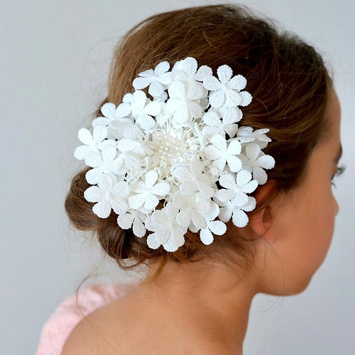 The Precious Posy Pearl and Crystal Girls Hair Clip - Sienna Likes to Party