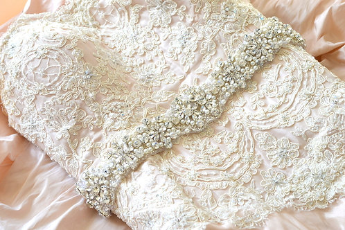 Carmen Bridal Belt/Sash