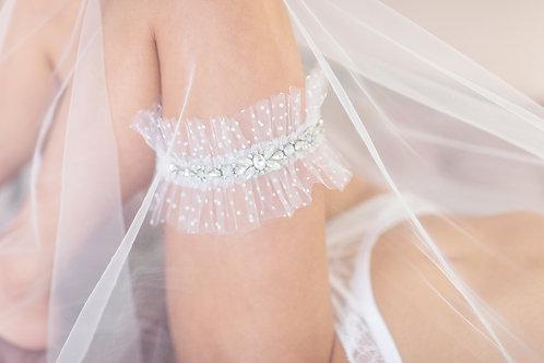 Paige Polka Bridal Garter