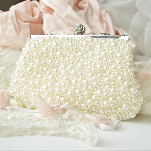 Pearly Princess Clutch Bag