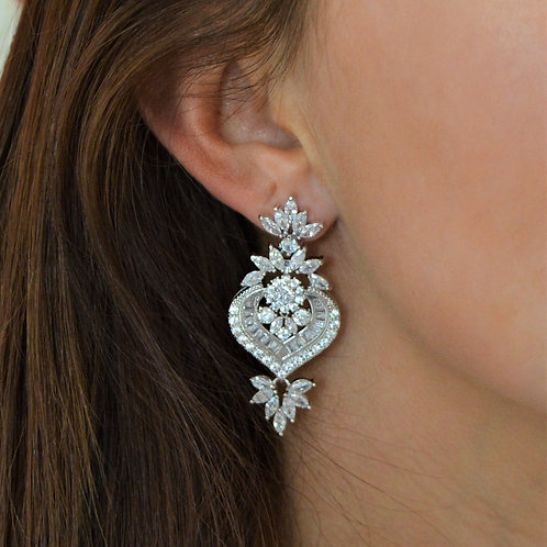 Monaco Bridal Earrings