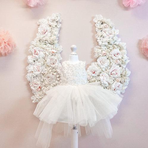 Ivory Butterfly Dress