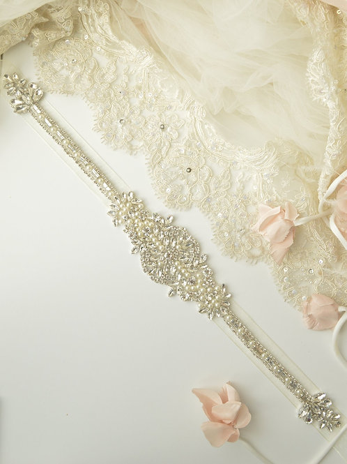 Eternal Charm Premium Bridal Sash