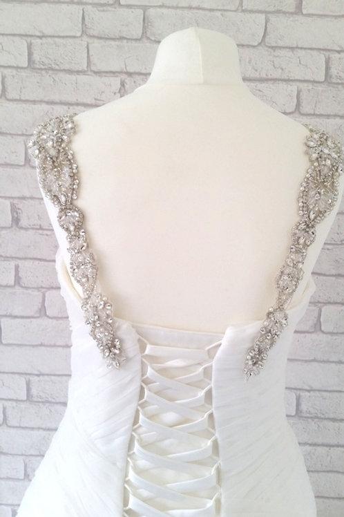 Brooklyn Crystal Bridal Straps