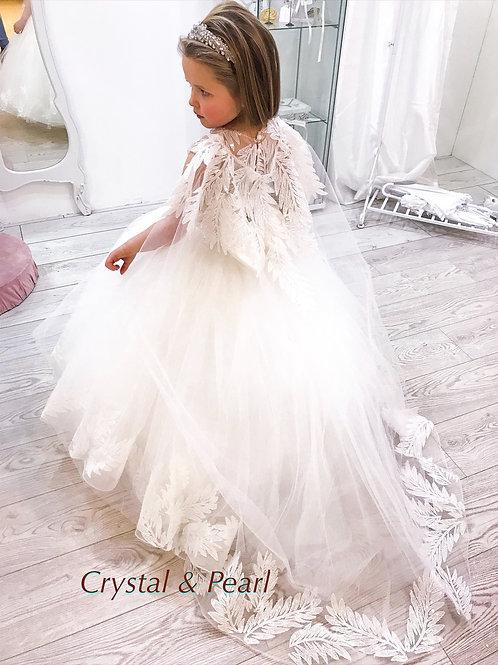 Swan Princess Dress & Cape