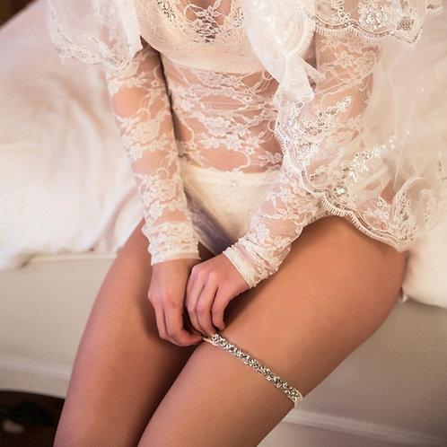 Giselle Slim Lace Bridal Garter