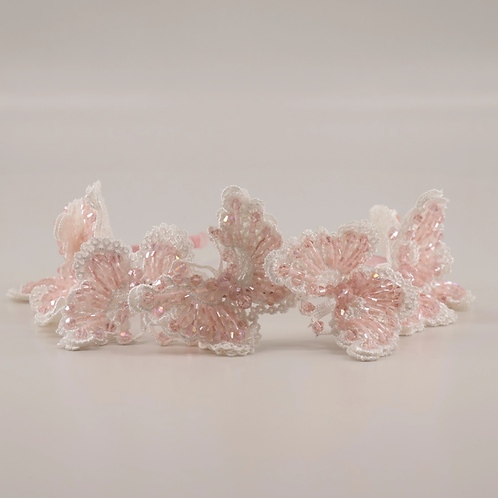 The Monarchy Butterfly Luxury Girls Headband - Sienna Likes to Party