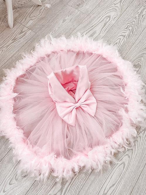 Sweet Dreams Pink Fluffy Dress