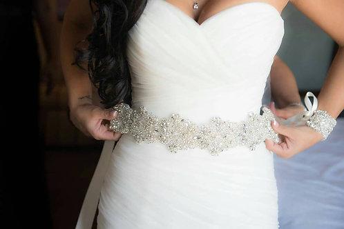 Chic Bridal Belt/Sash