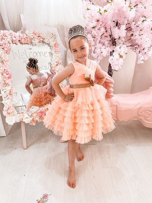 Princess Peach Party Dress
