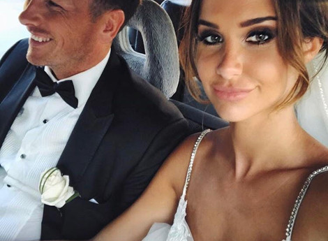 EMILY SHAK - FASHION BLOGGER WEARS C&P ON HER WEDDING DAY