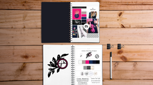 The process of working with a brand identity designer