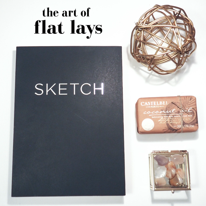 The art of the flat lay | Jessica breeden designs