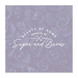 Sugar and Brows Brand Identity