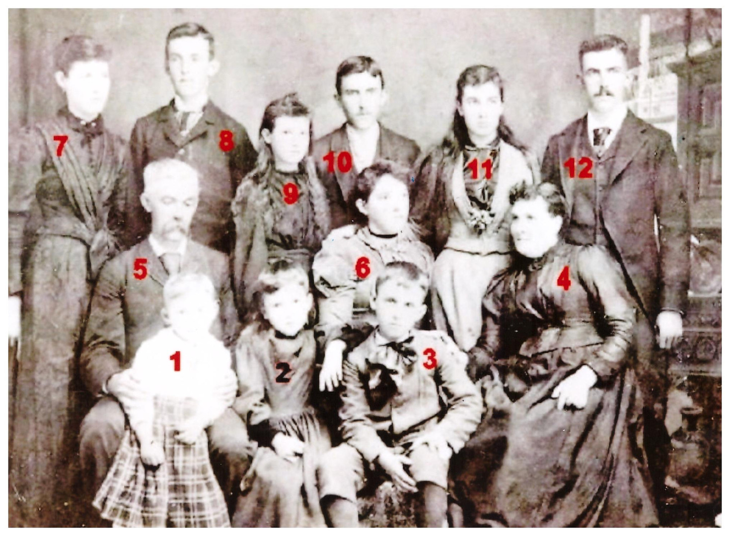 Dudrow Family Numbered (Photo 2)