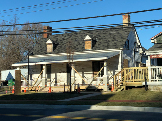 Horace Willson House Relocation