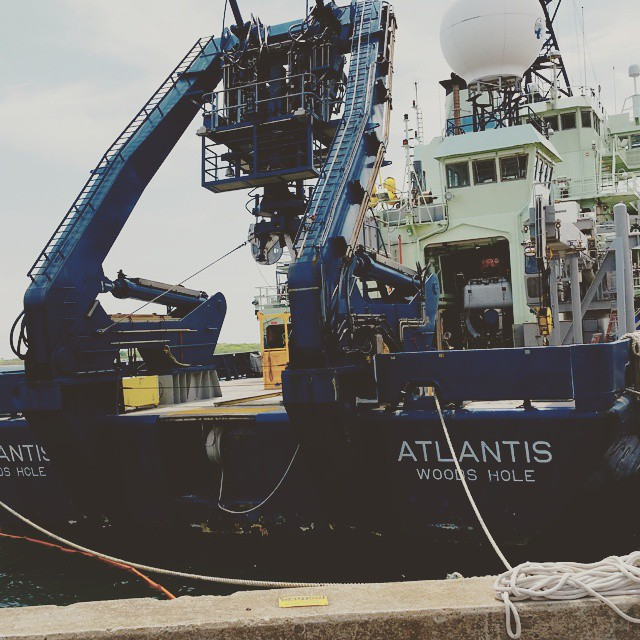 Hello old friend, it's been far too long.jpg #rvatlantis #whoi #whereitallbegan  #kfunkthebeginning