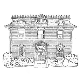 Landmarks Coloring Book Cover