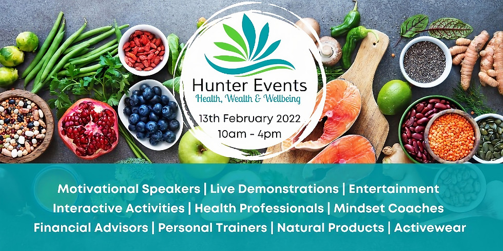 Hunter Events Health, Wealth and Wellbeing