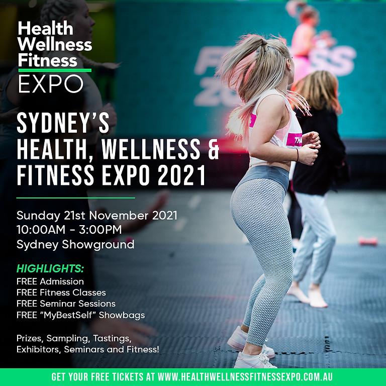 Health Wellness Fitness Expo