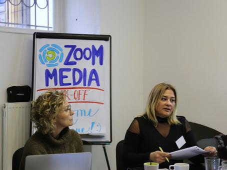 Zoom Media team meets in Prague
