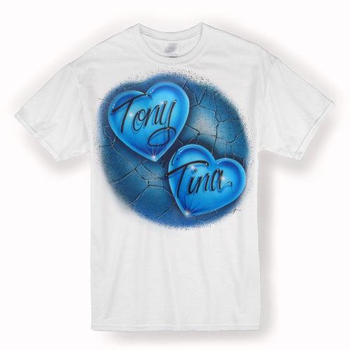 Double heart Tshirt