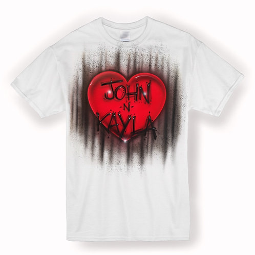 Single heart Tshirt