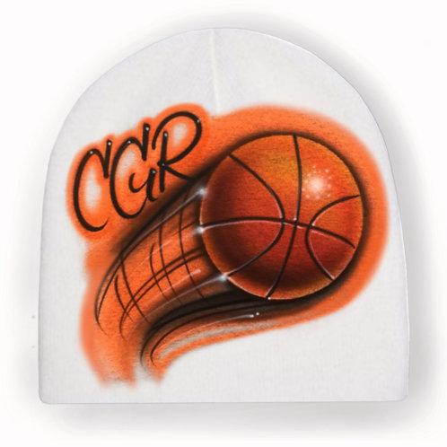 Basketball knit hat