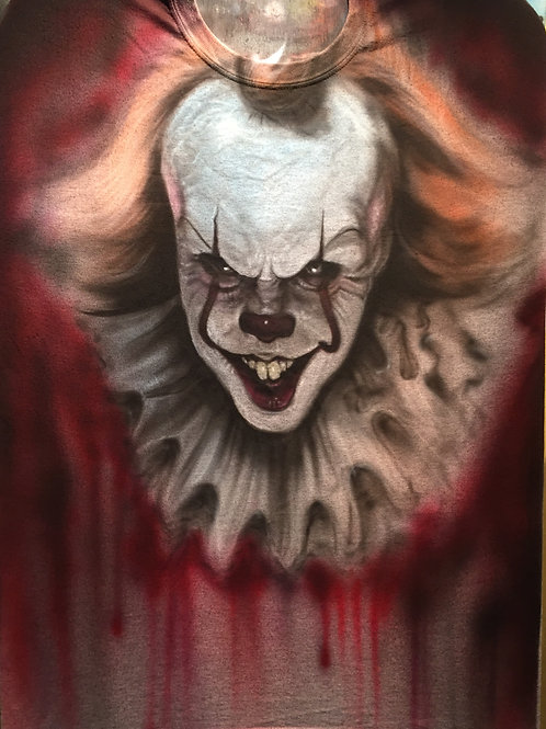 Pennywise on a Tshirt