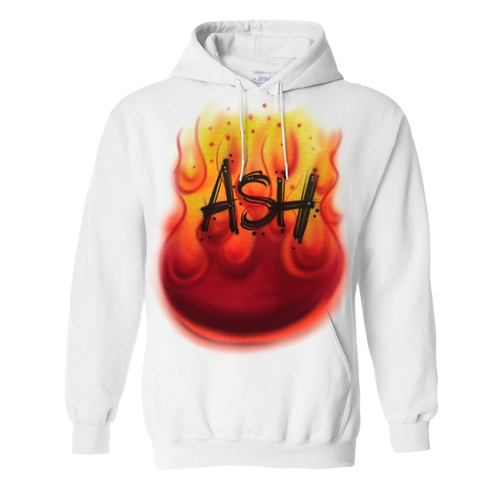 Flame name sweatshirt