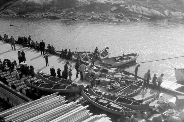 Embarquement pour Unamen Shipu en 1961