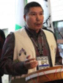 Denis Mestenapeo, chef du Conseil des Innus de Pakya Shipi