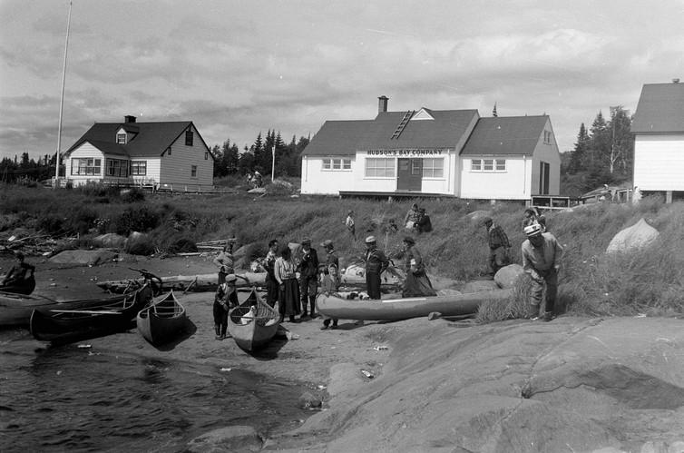 Poste de traite des fourrures de laCompagnie de la Baie d'Hudson