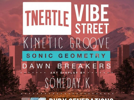 NEW MUSIC/EVENT PREVIEW: Vibe Street Playing Ruby Generations Fund Raiser in Denver!