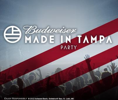 Budweiser Announces FREE Made in Orlando and Tampa Concerts with Big Gigantic, GRiZ, Savoy, and Milk