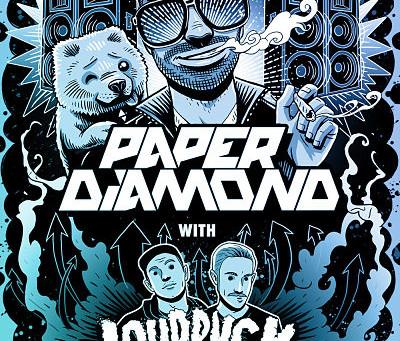NEW MUSIC + TOUR: Paper Diamond – 2014 Tour Mix + Dates