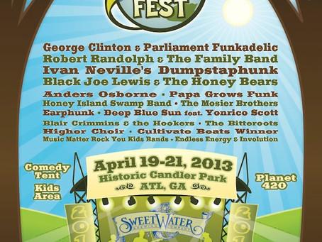 SweetWater 420 Fest: Family Friendly Funk
