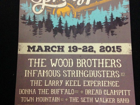 Suwannee Springfest Announces 2015 Lineup: Wood Brothers, Stringdusters, Larry Keel+++
