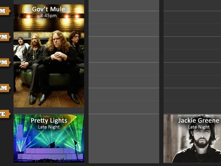 Mountain Jam Preview: Late Night Extravaganzas!