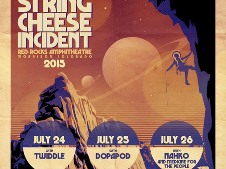 String Cheese Incident Announces 3-night Red Rocks Run in July